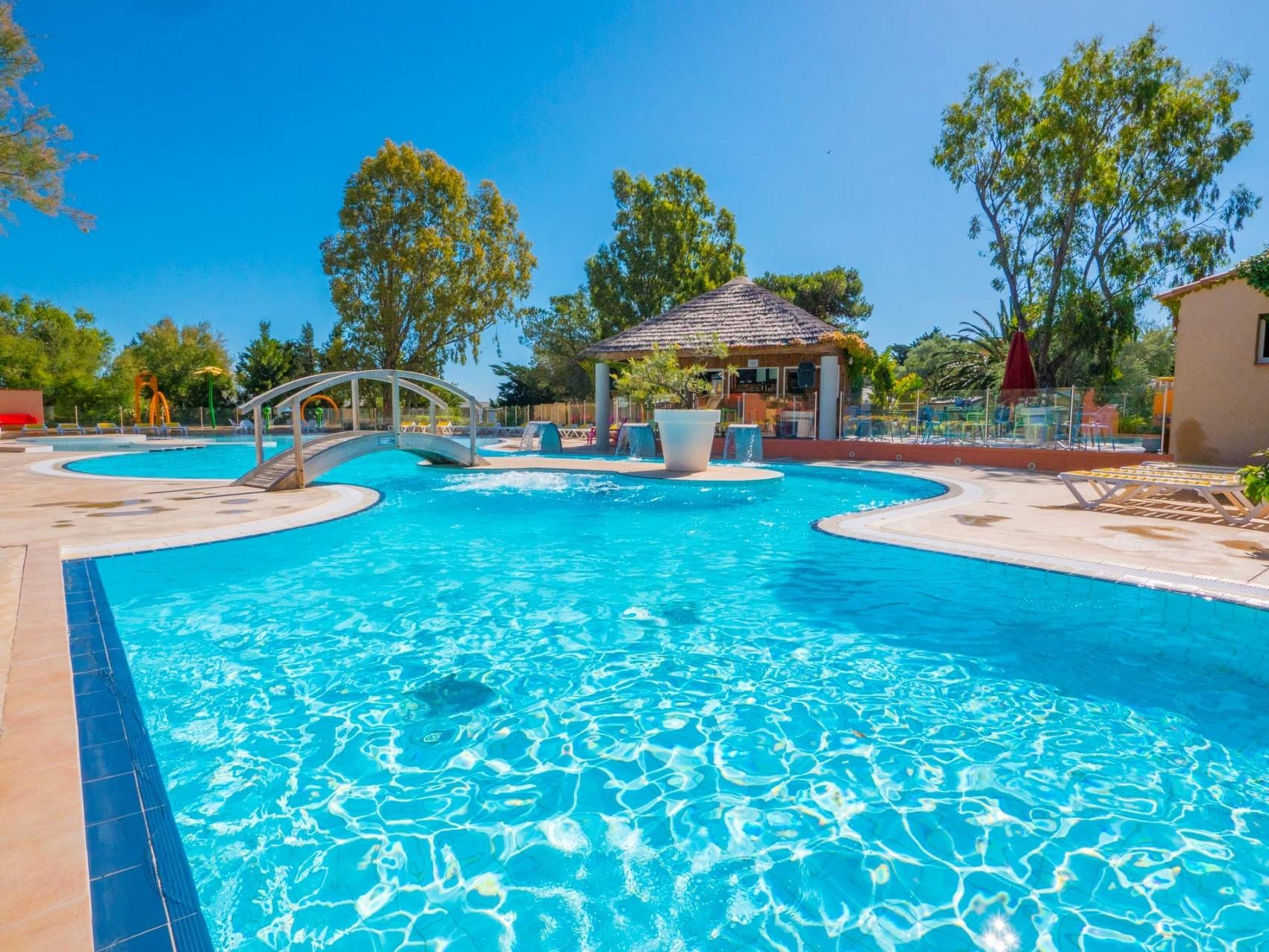 Camping avec piscine au barcar s pyr n es orientales le - Camping a valras plage avec piscine ...