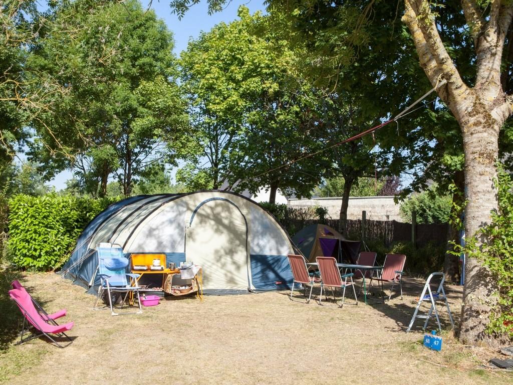 Camping Pays de la Loire 4 stars near Angers - Les Voiles d