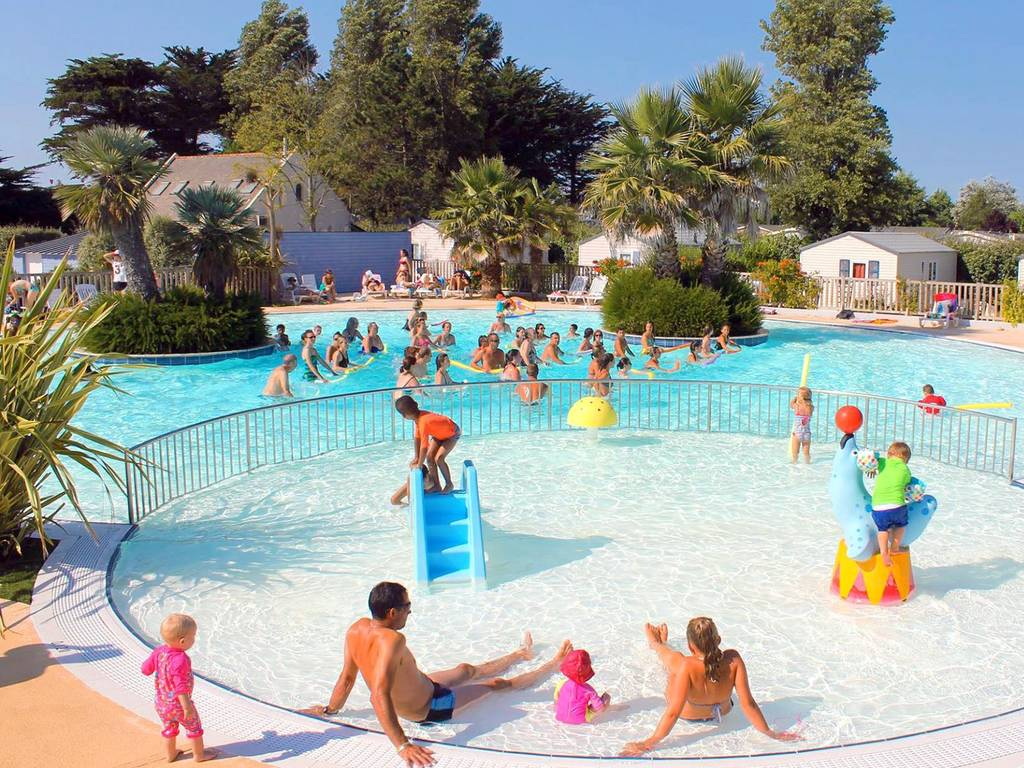 Camping Swimming Pool Le Guilvinec Brittany