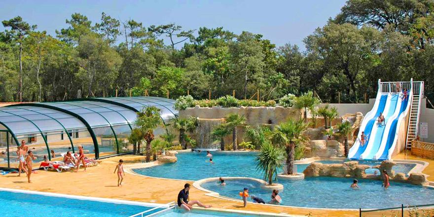 Camping piscine la palmyre poitou charentes for Camping poitou charente piscine